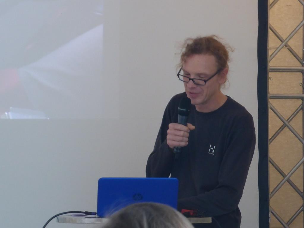Tom Richter berichtet von seiner Familientour (Bild: Klaus Dapp)