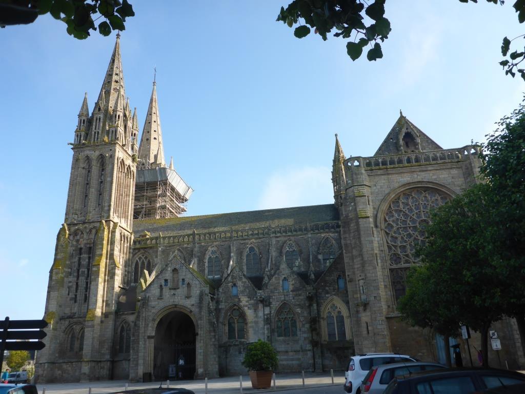 Kathetrale in Saint-Pol-de-Leon (Bild: Klaus Dapp)