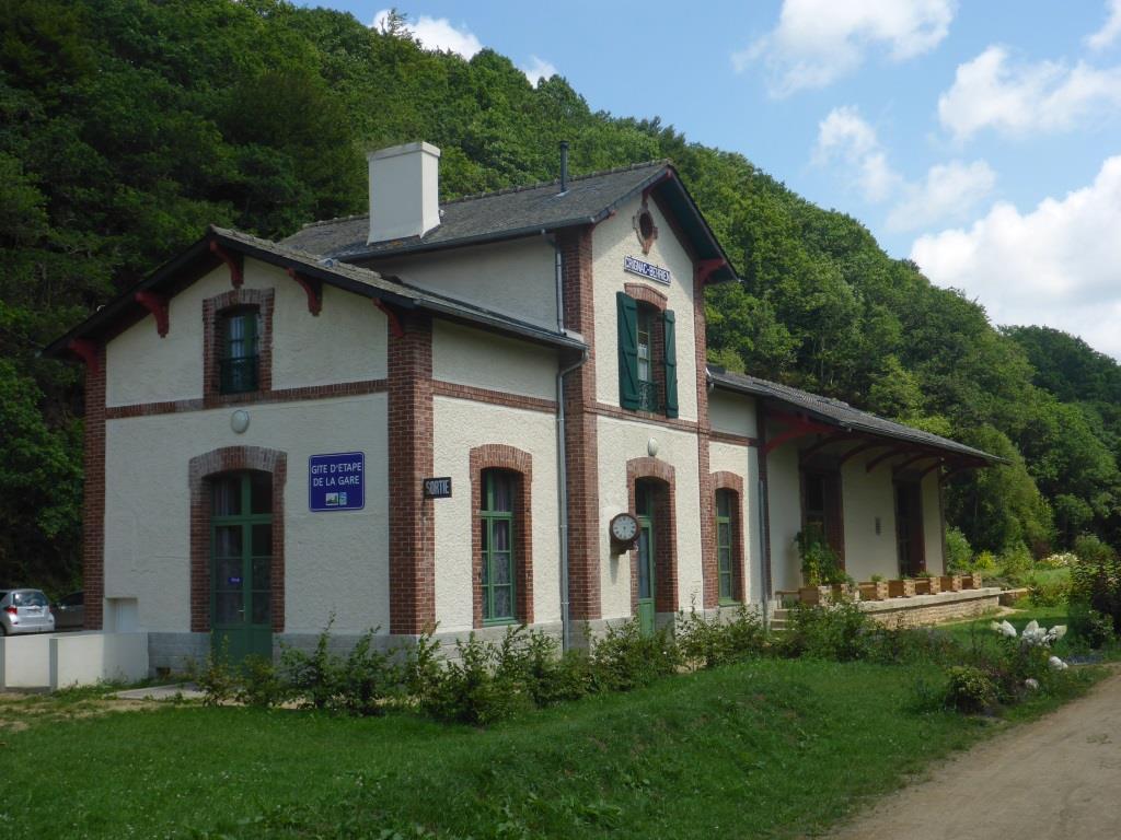 ehemaligen Bahnhof in Scrignac (Bild: Klaus Dapp)