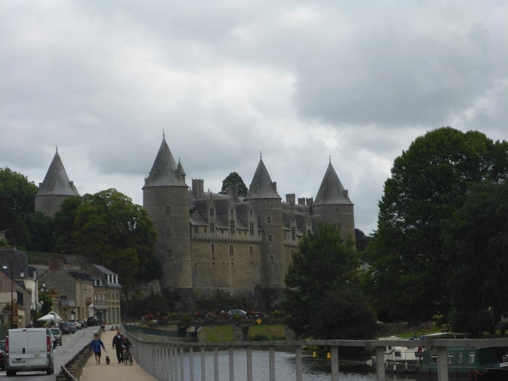 Schloss in Josselin am Fluss L'Oust (Bild: Klaus Dapp)