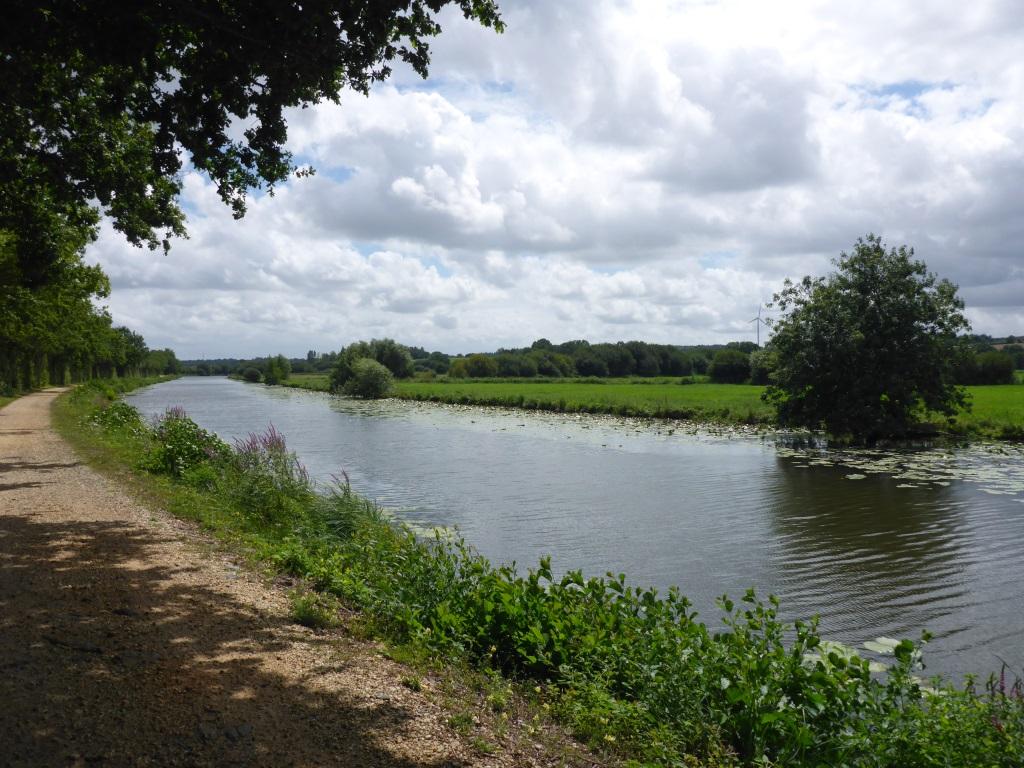 Bilck auf den Kanal (Bild: Klaus Dapp)