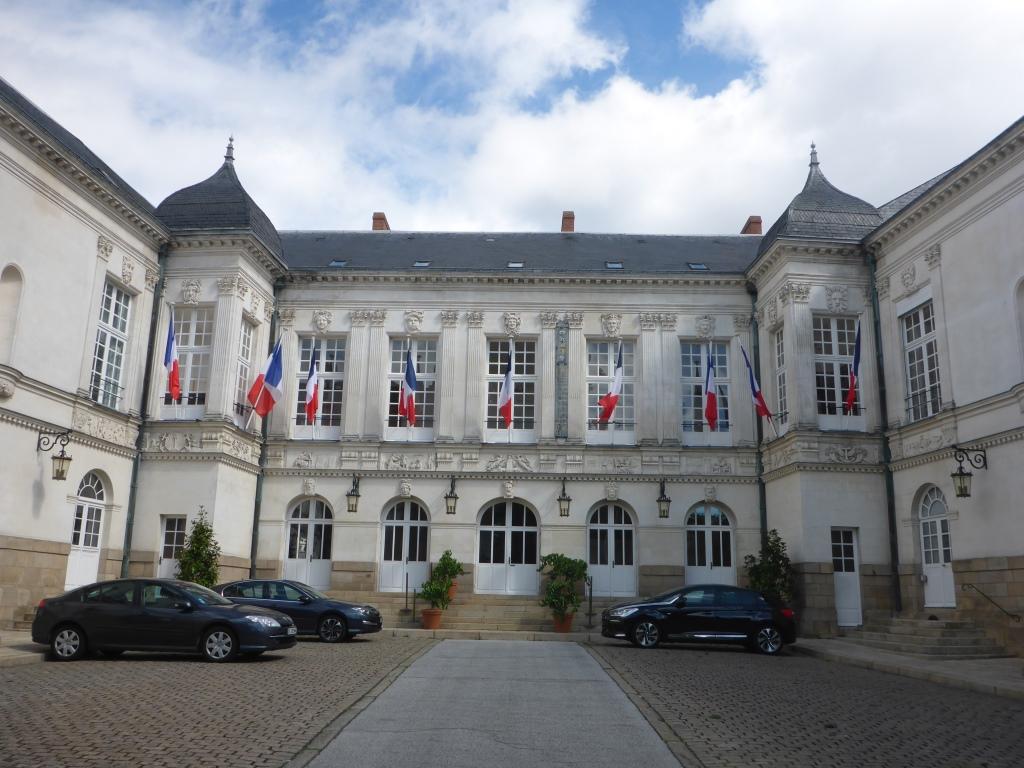 Rathaus von Nantes (Bild: Klaus Dapp)