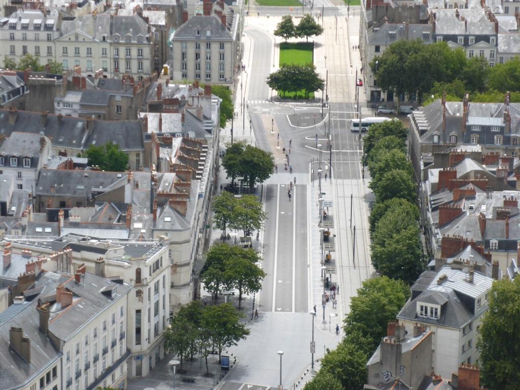 Blick auf den Cours Oliver de Clisson (Bild: Klaus Dapp)