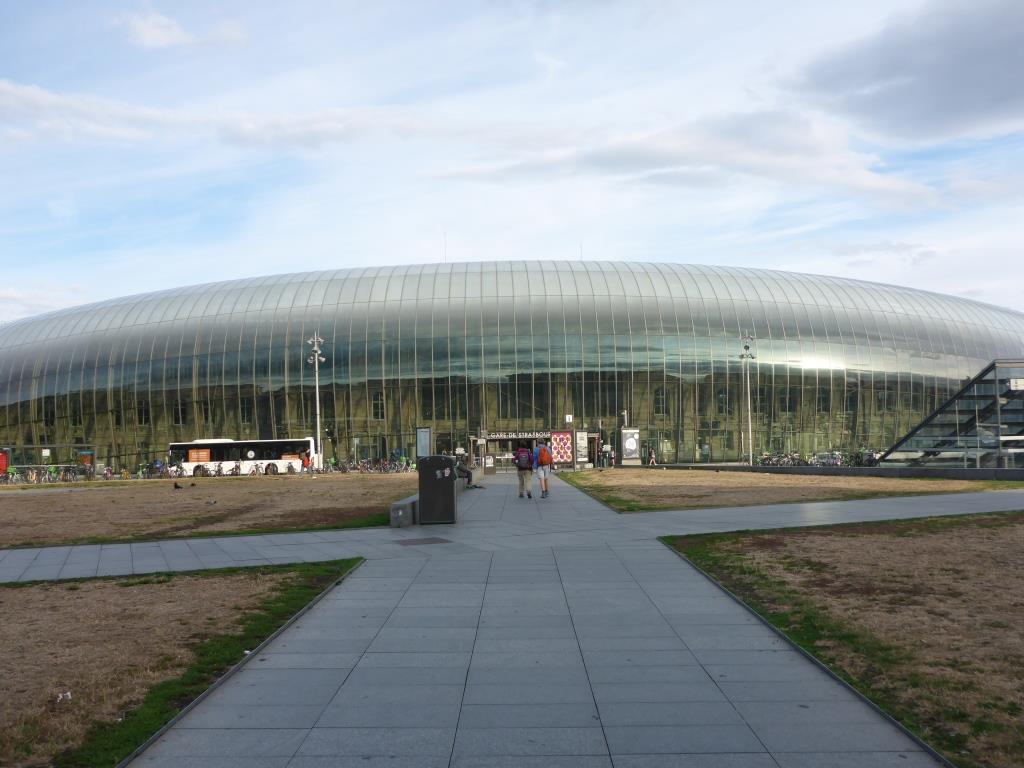 Bahnhof in Strasbourg (Bild: Klaus Dapp)