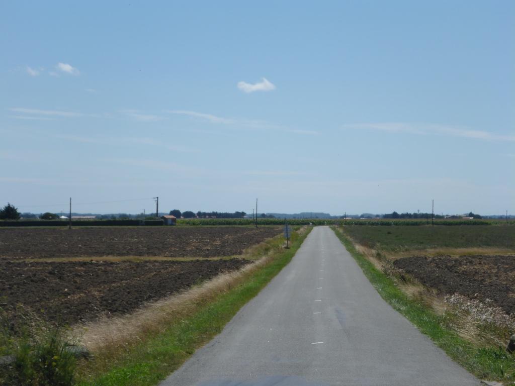 Weg Richtung Bouin (Bild: Klaus Dapp)