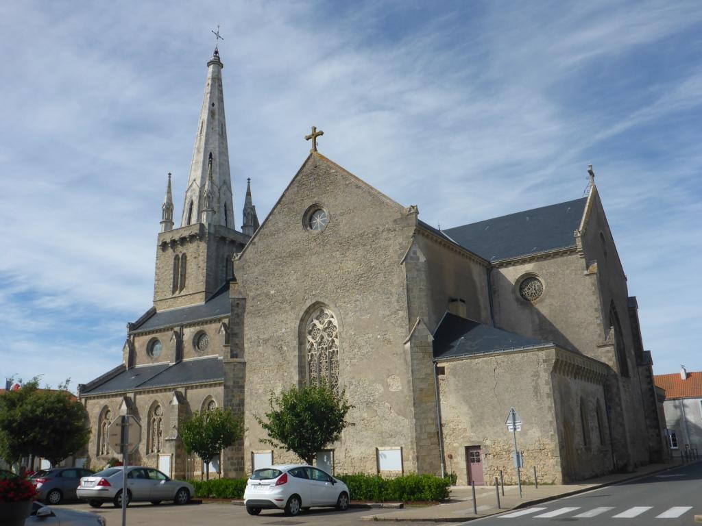 Kirche in Bouin (Bild: Klaus Dapp)