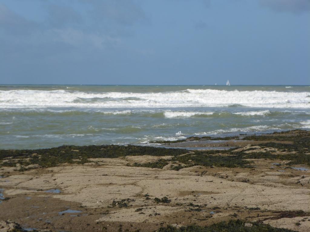 Atlantik vor Brétignolles-sur-Mer (Bild: Klaus Dapp)