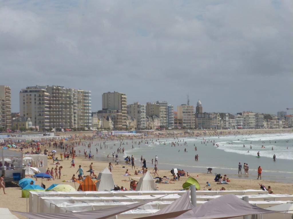 Strandpromenade von Les Sables-d'Olonne (Bild: Klaus Dapp)