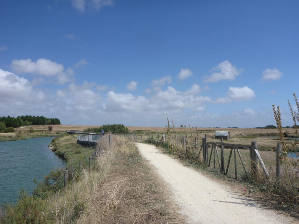 Marschbereich bei Le Port vor Jard-sur-Mer (Bild: Klaus Dapp)