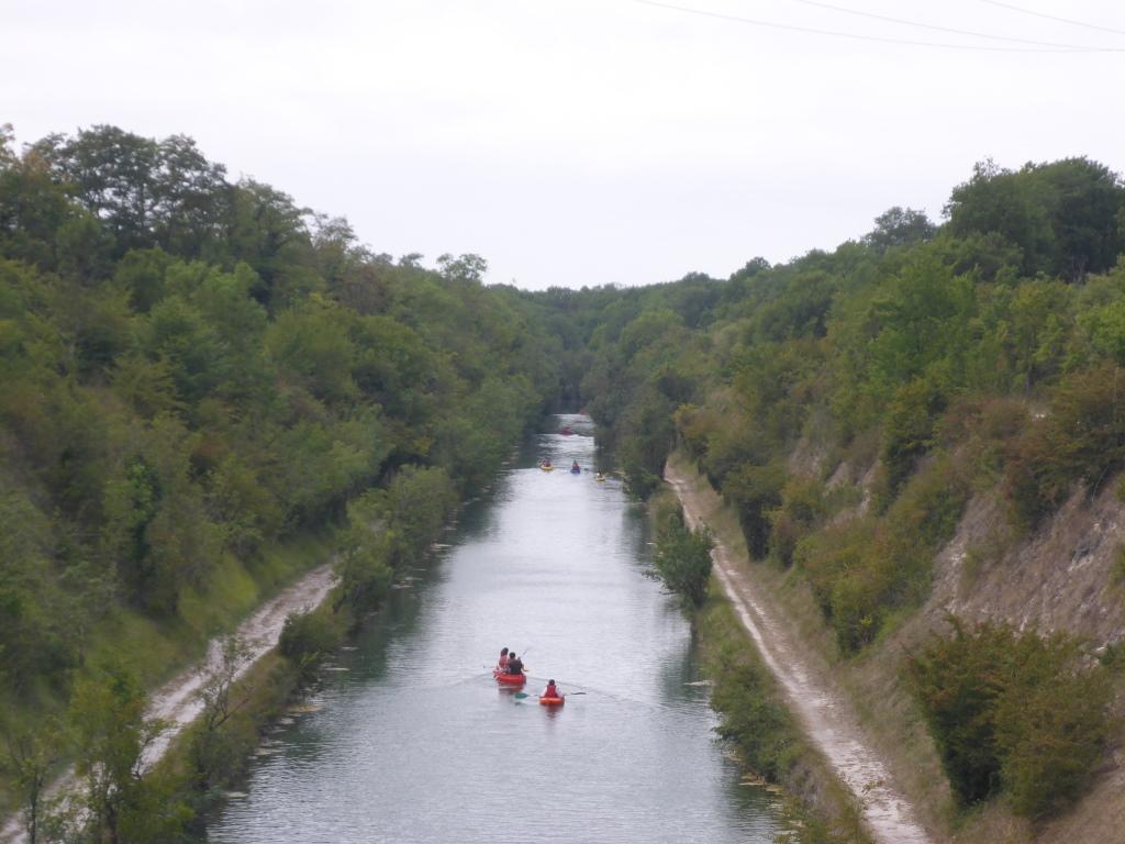 Canal de Marans à la Mer bei La Rochelle (Bild: Klaus Dapp)