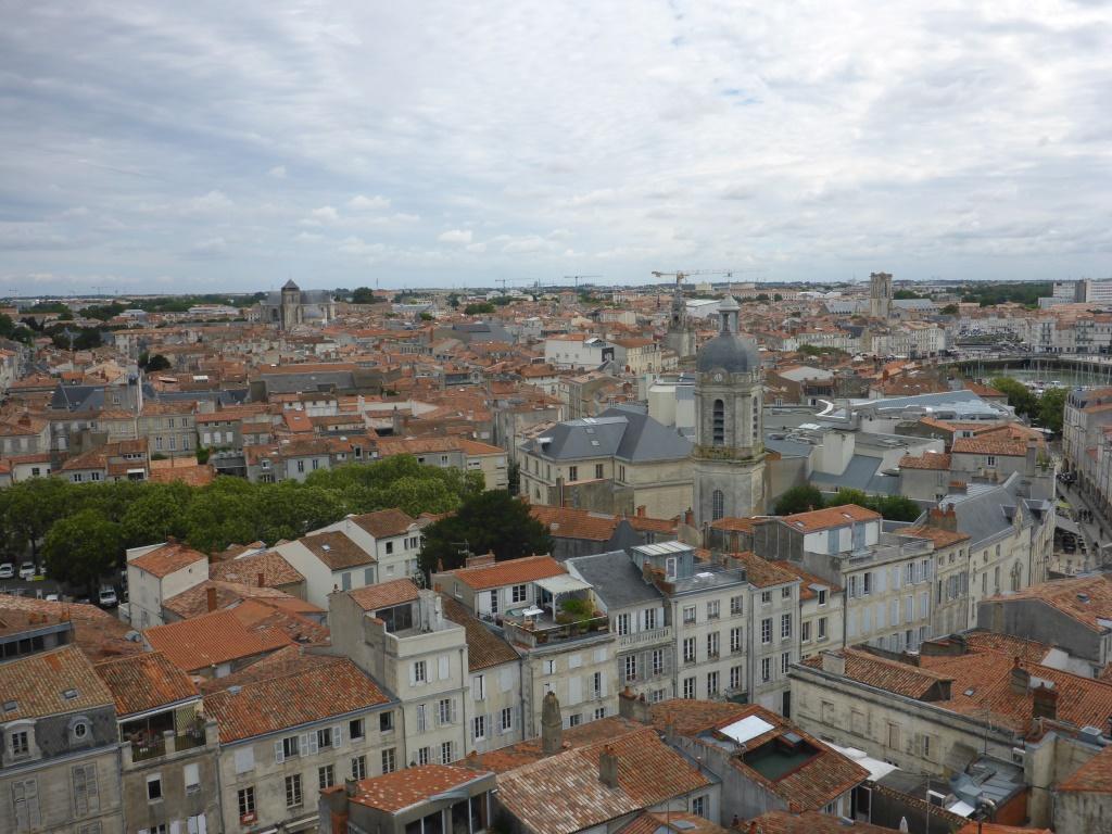 Blick auf die Innenstadt von La Rochelle (Bild: Klaus Dapp)