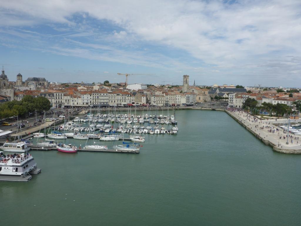 Hafenbecken von La Rochelle (Bild: Klaus Dapp)