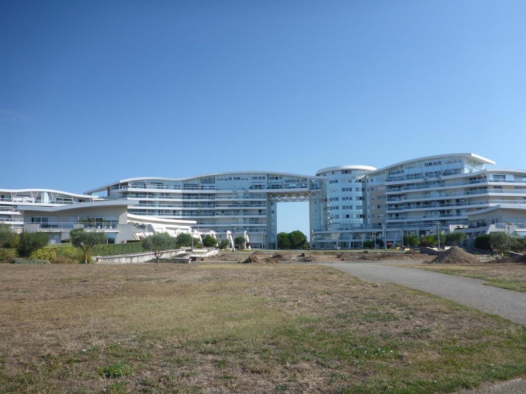 Hochhauskomplex Portes Océanes an der Atlantikküste bei La Rochelle (Bild: Klaus Dapp)