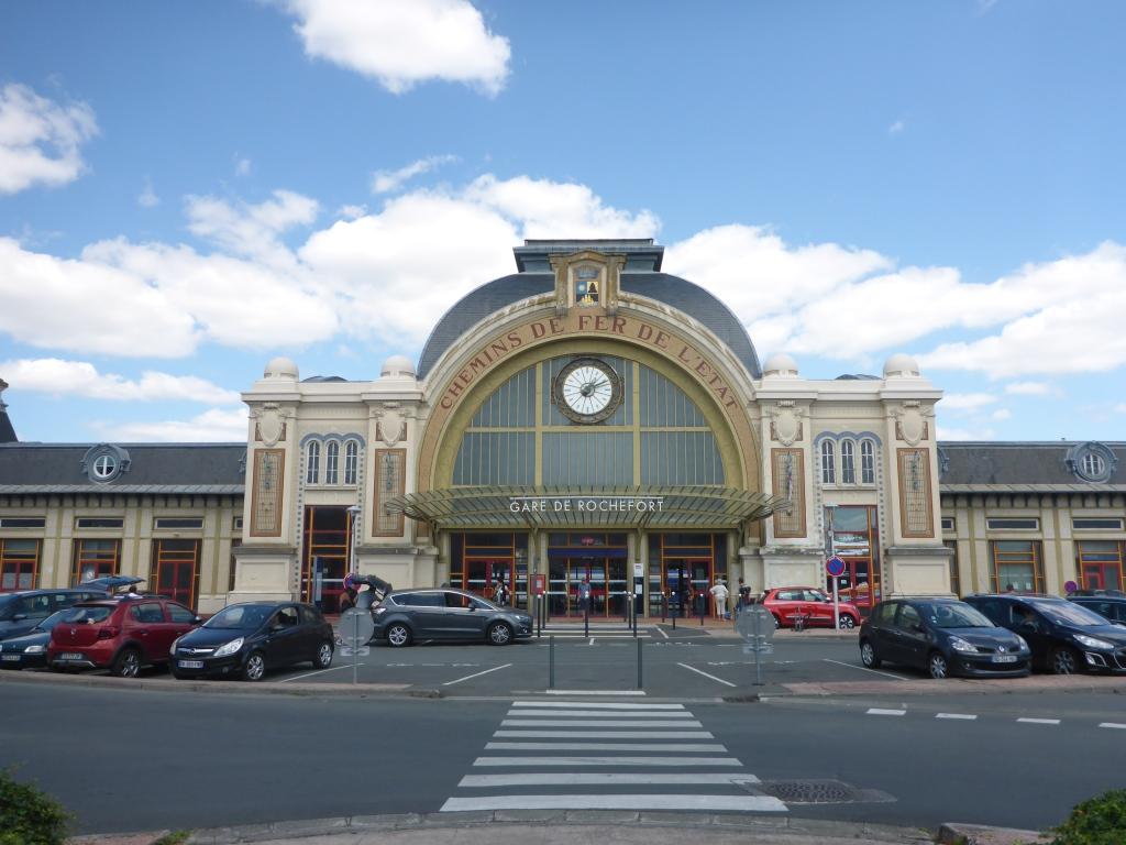 Bahnhof Rochefort (Bild: Klaus Dapp)