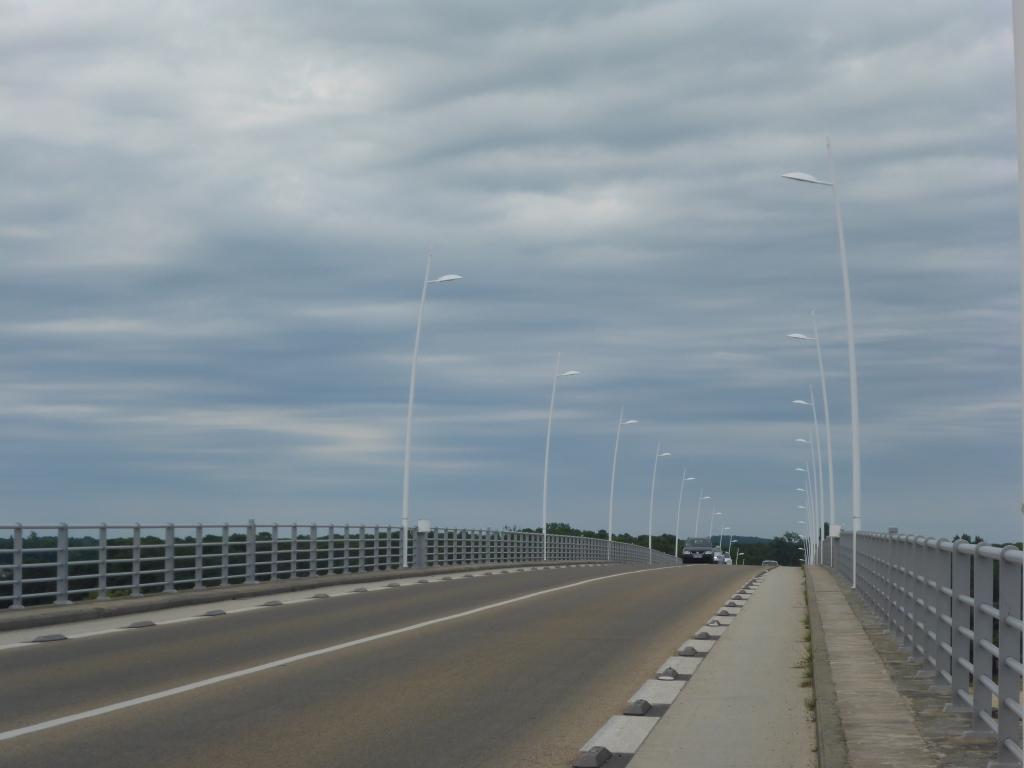 Brücke über den Fluss La Seudre (Bild: Klaus Dapp)