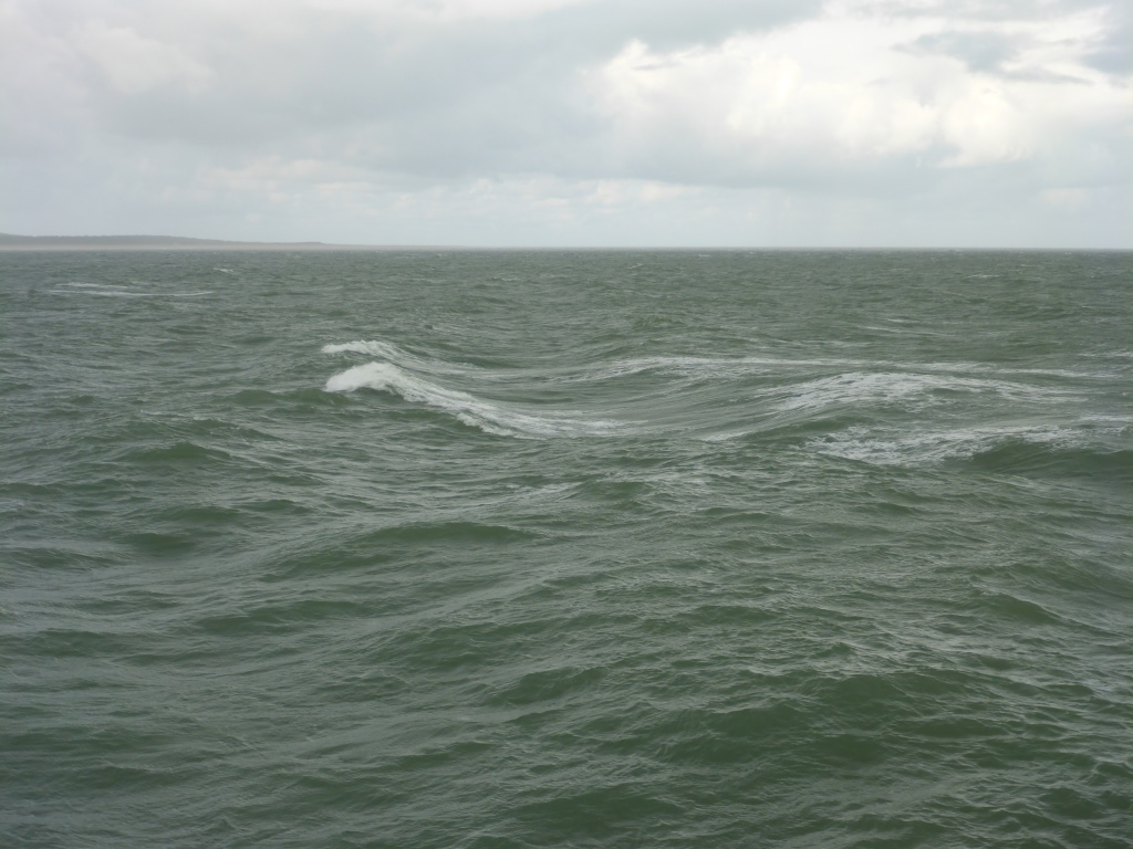 Atlantik zwischen Royan und Pointe-de-Grave (Bild: Klaus Dapp)