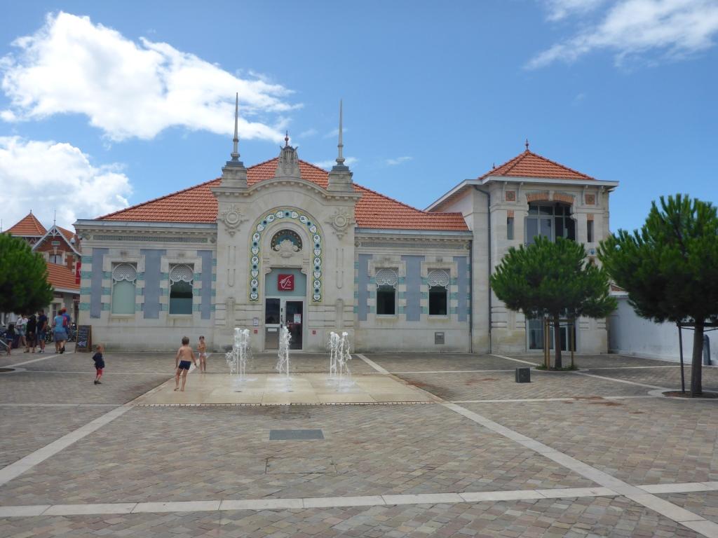 Bank in Soulac-sur-Mer (Bild: Klaus Dapp)