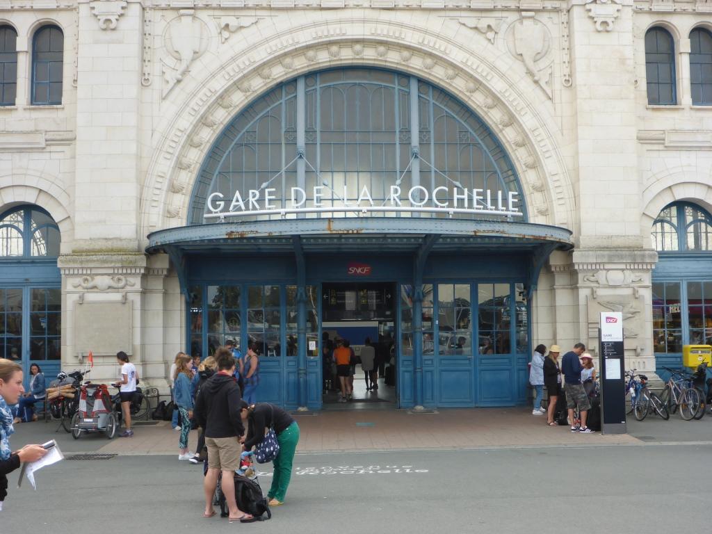 Bahnhof in La Rochelle (Bild: Klaus Dapp)