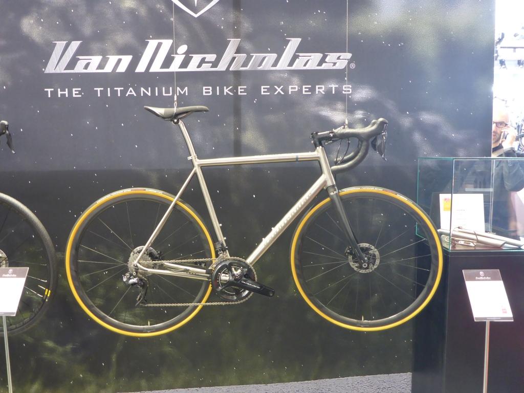 Van Nicholas - Schöne Räder bei Koga auf der Eurobike 2017 (Bild: Klaus Dapp)