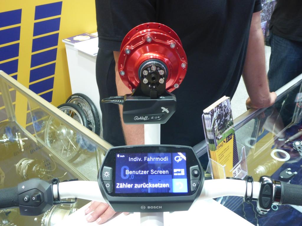 Innovation oder Schnickschnack - Elektrische Rohloffschaltung für das E-Bike (Bild: Klaus Dapp)