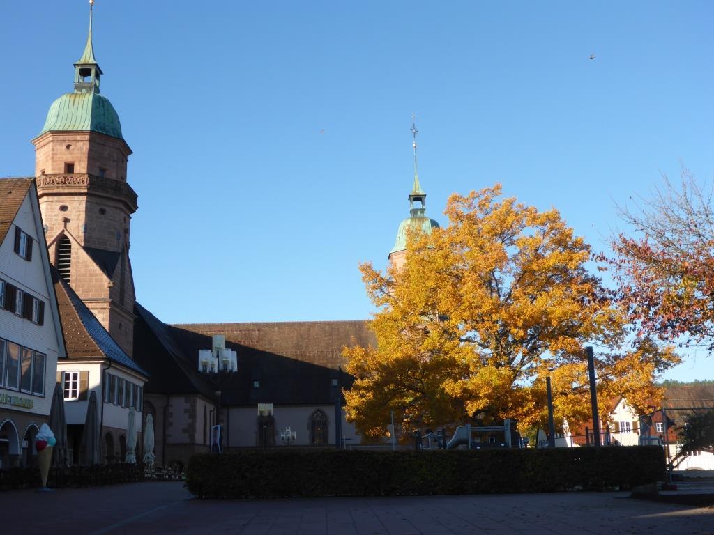 Eckkirche am Marktplatz in Freudenstadt (Bild: Klaus Dapp)