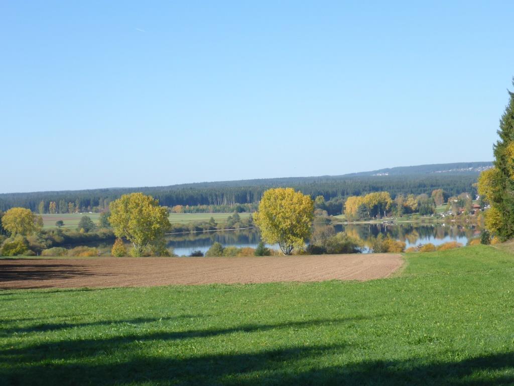 Blick auf den Kirnbergsee (Bild: Klaus Dapp)