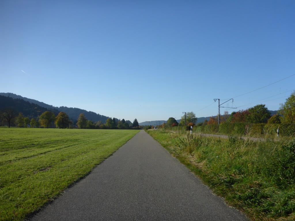Radweg im Dreisamtal (Bild: Klaus Dapp)