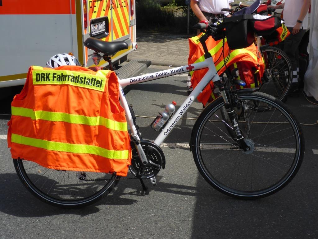 Radstaffel des Deutschen Roten Kreuzes (Bild: Klaus Dapp)