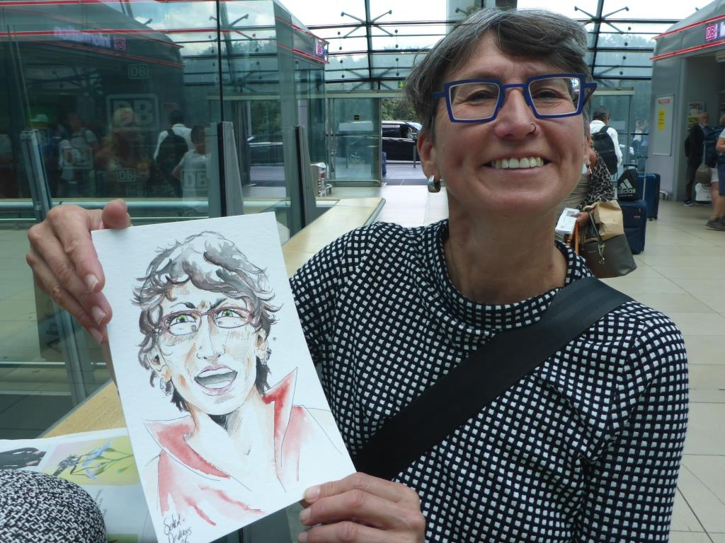 Herzallerliebste mit Manga-Portrait (Bild: Klaus Dapp)