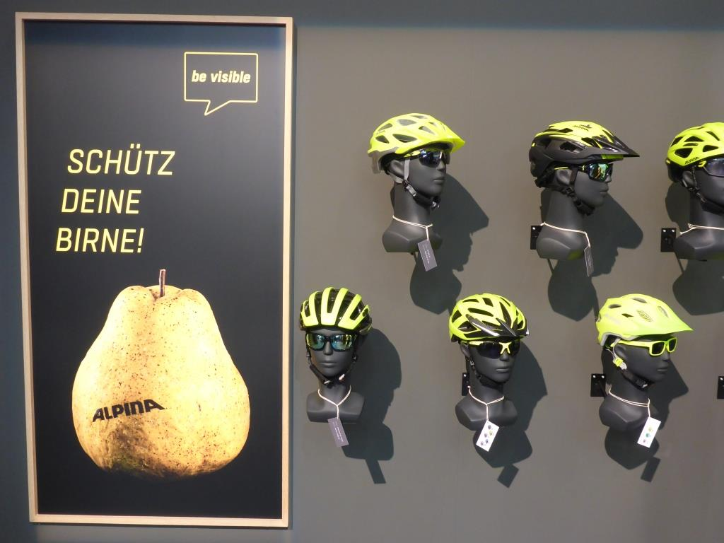 Gut sichtbare Helme (Bild: Klaus Dapp)