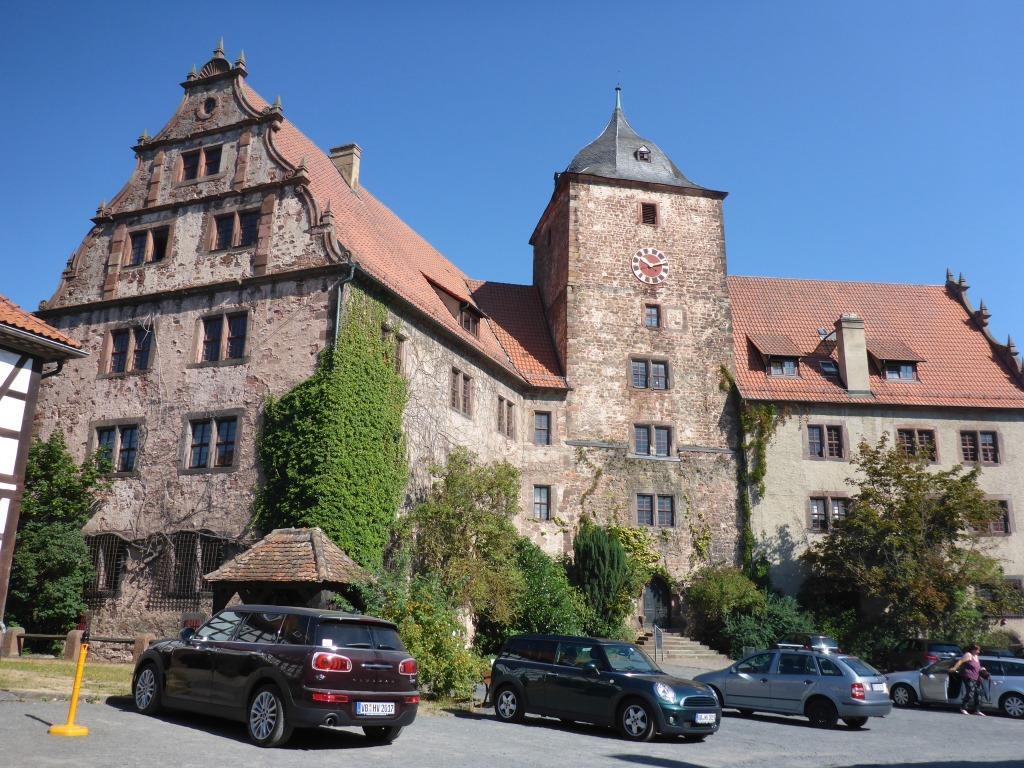 Vorderburg in Schlitz (Bild: Klaus Dapp)