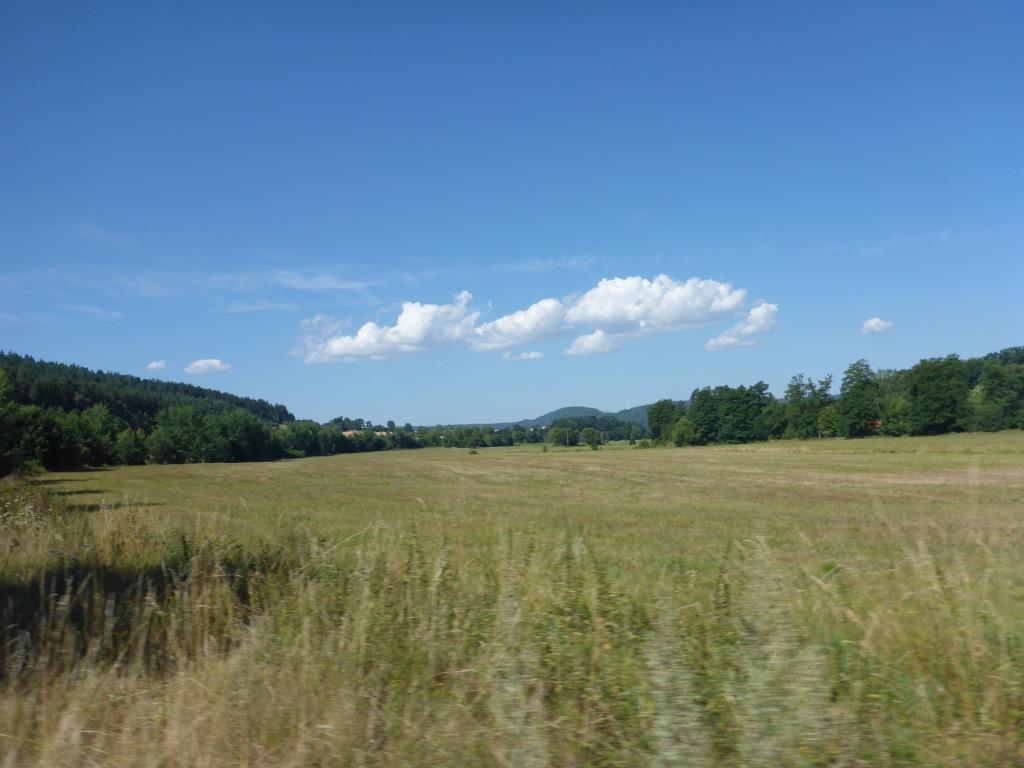 Bilck in das Tal der Schlitz bei Schlitz (Blid: Klaus Dapp)