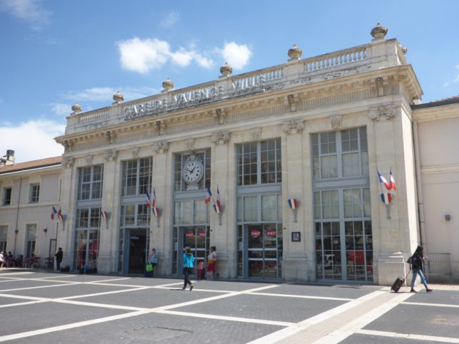 Bahnhof in Valence (Bild: Klaus Dapp)