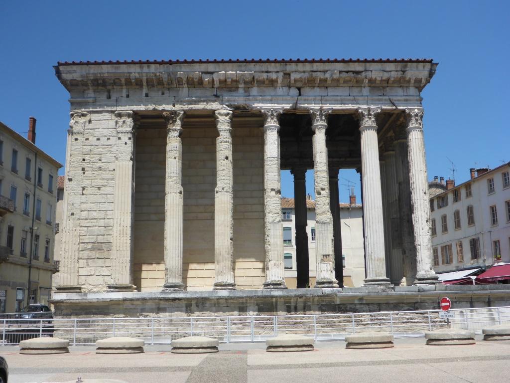 Temple d' Auguste et Livie in Vienne (Bild: Klaus Dapp)