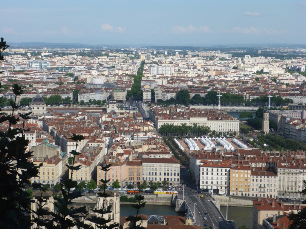 Blick über Lyon (Bild: Klaus Dapp)