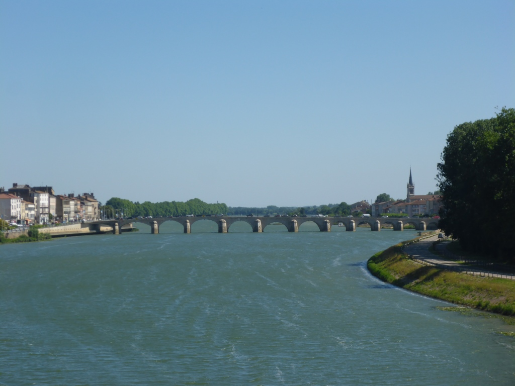 Alte Brücke von Mâcon (Bild: Klaus Dapp)