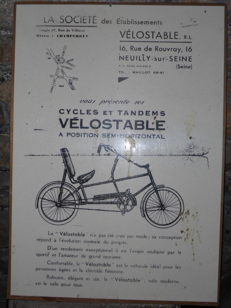 Velostable - Vorläufer des Liegerads (Bild: Klaus Dapp)