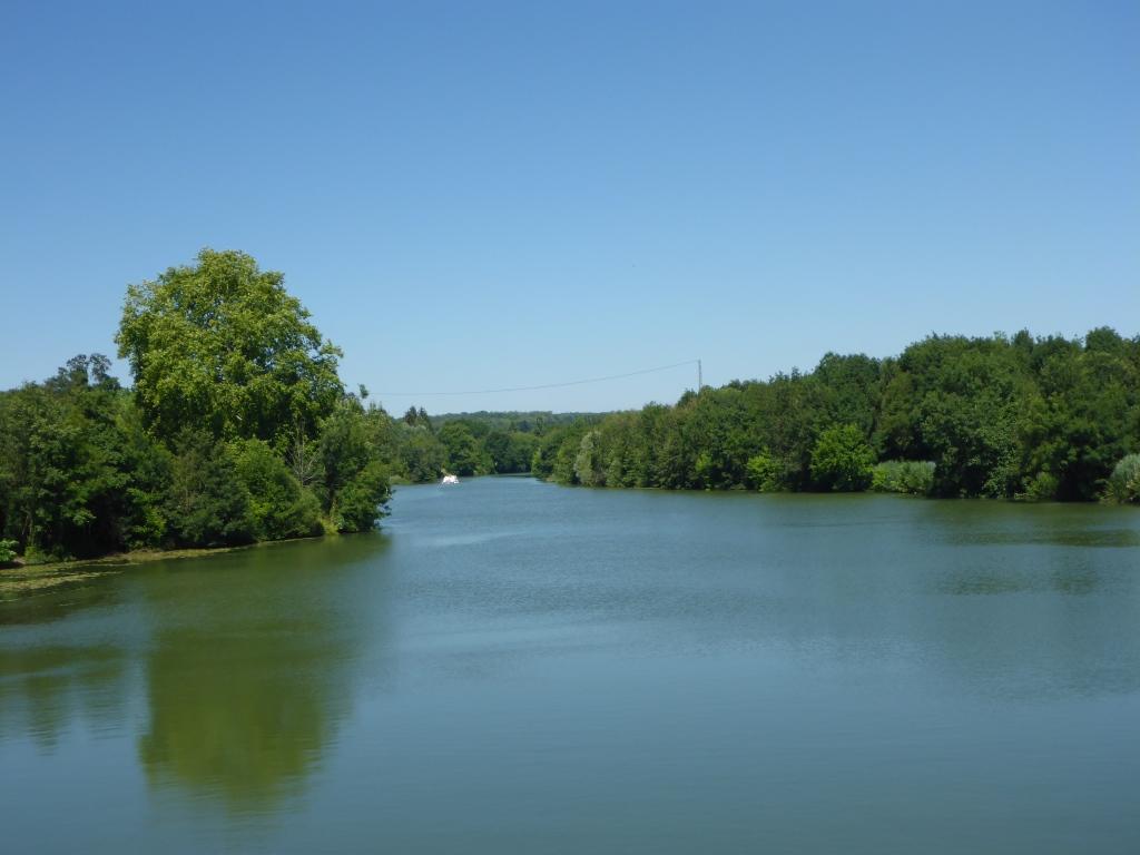 Blick auf die Saône (Bild: Klaus Dapp)