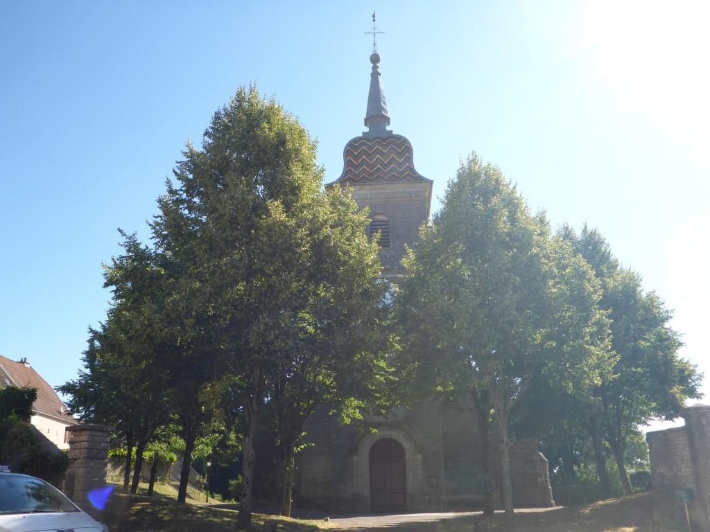 Kirche von Ray-sur-Saône (Bild: Klaus Dapp)