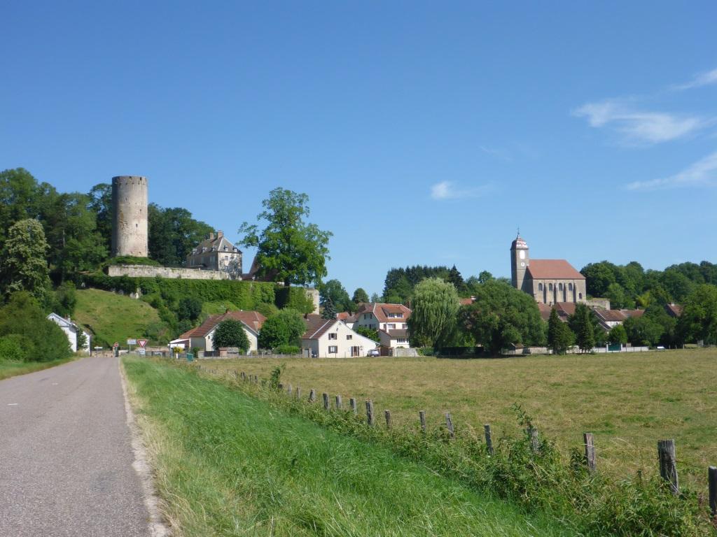 Blick auf Rupt-sur-Saône (Bild: Klaus Dapp)
