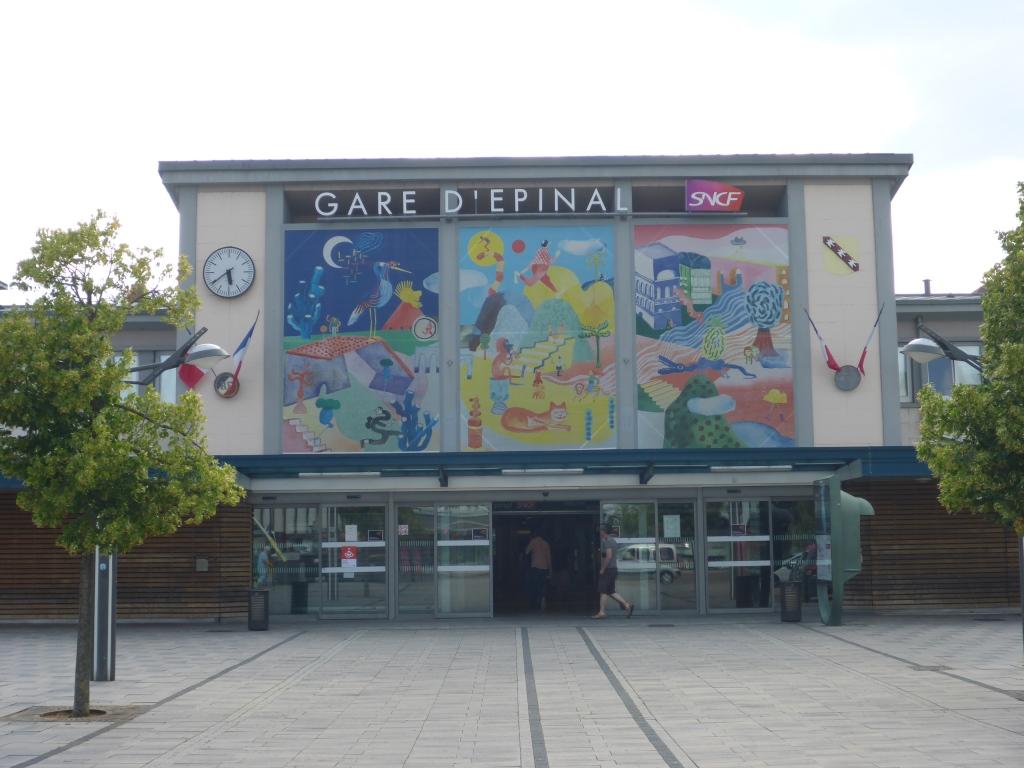 Bahnhof in Epinal (Bild: Klaus Dapp)