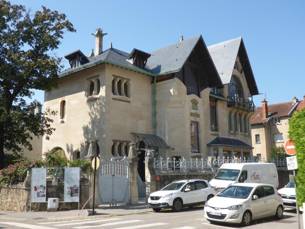 Villa Marojelle in Nancy (Bild: Klaus Dapp)