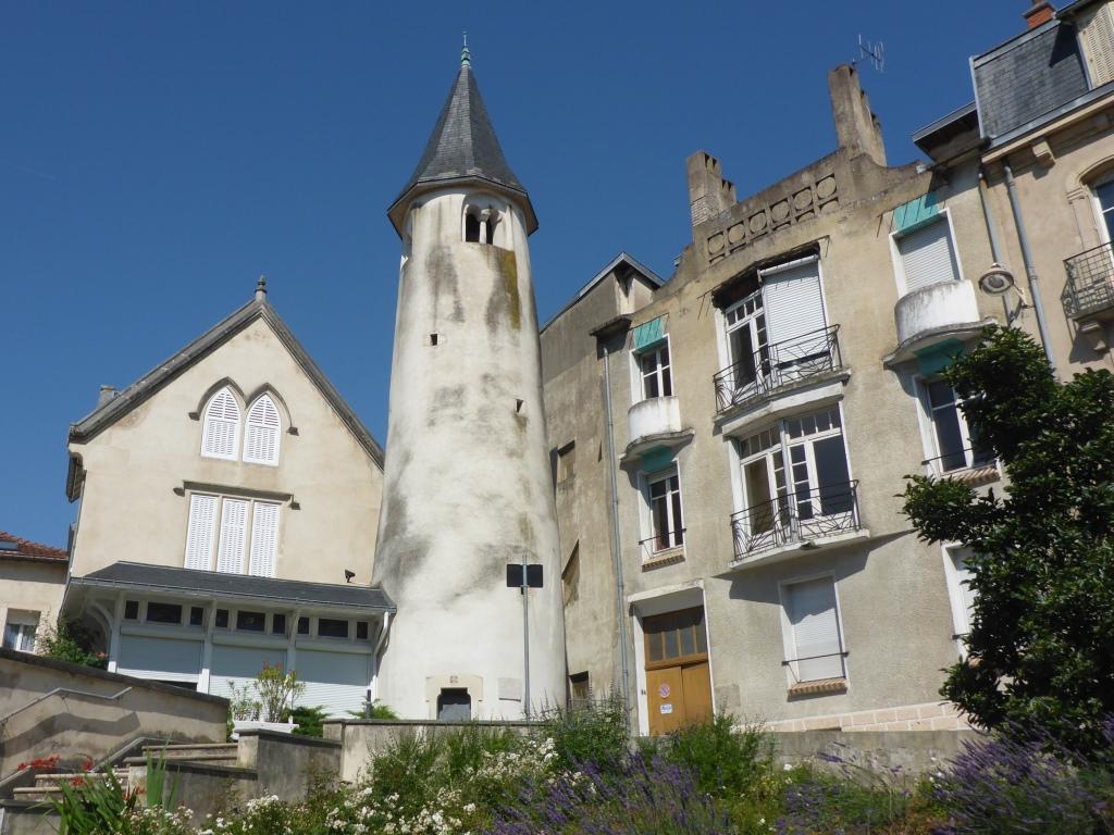 Tour de la Commanderie Saint-jean-du-Vieil-Aître in Nancy (Bild: Klaus Dapp)