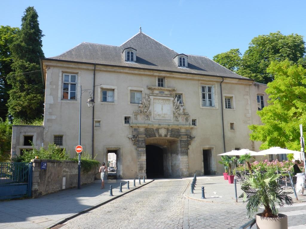 Porte de la Citadelle aus Richtung Altstadt in Nancy (Bild: Klaus Dapp)