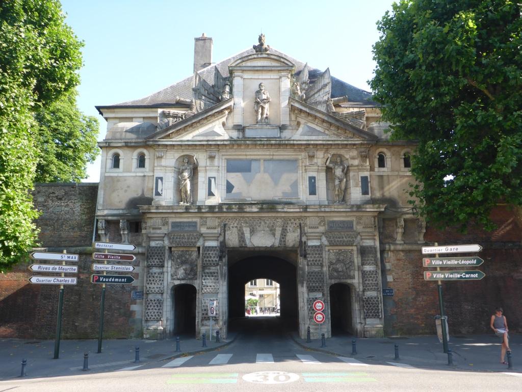 Ehemalige Außenseite der Porte de la Citadelle in Nancy (Bild: Klaus Dapp)