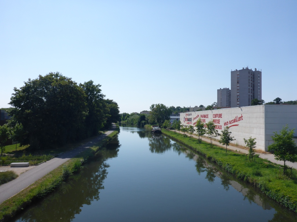 Rhein-Marne-Kanal in Nancy (Bild: Klaus Dapp)