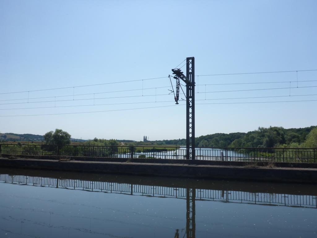 Brücke des Rhein-Marne-Kanals über die Meurthe bei Art-sur-Meurthe (Bild: Klaus Dapp)