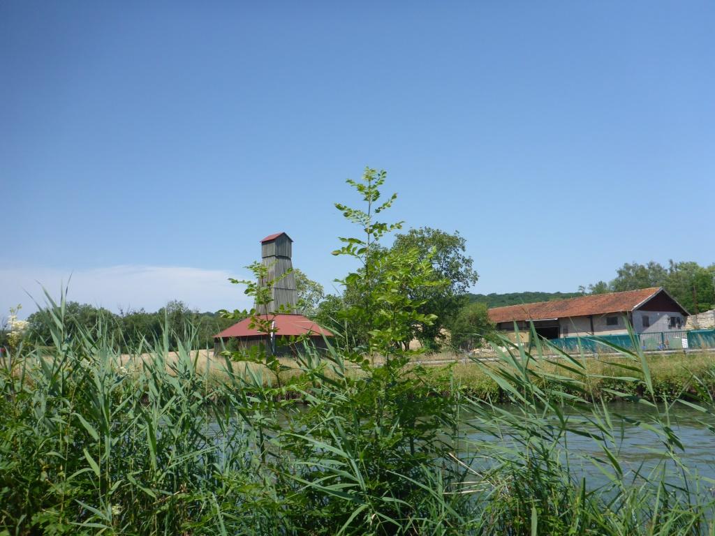 Bild auf die Saline von Einville-au-Jard (Bild: Klaus Dapp)