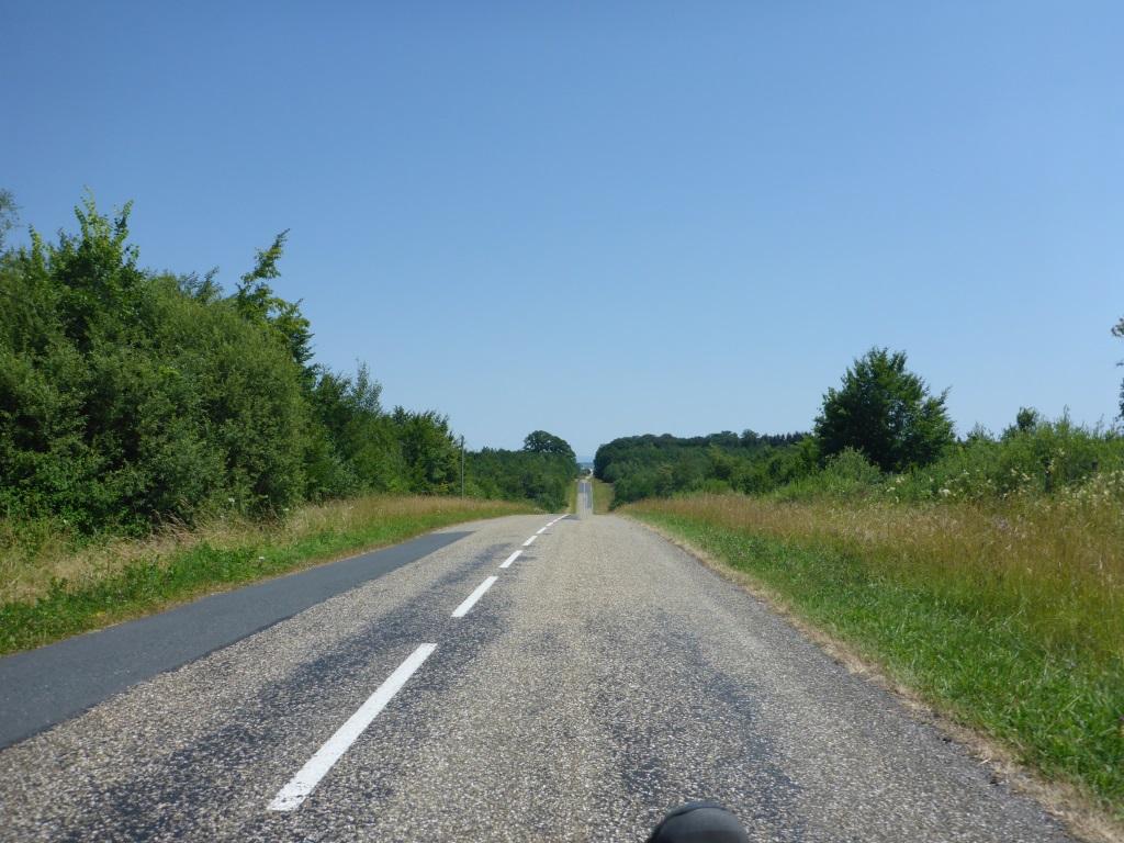 Steigungen im Abschnitt zwischen Lagarde und Mossey (Bild: Klaus Dapp)