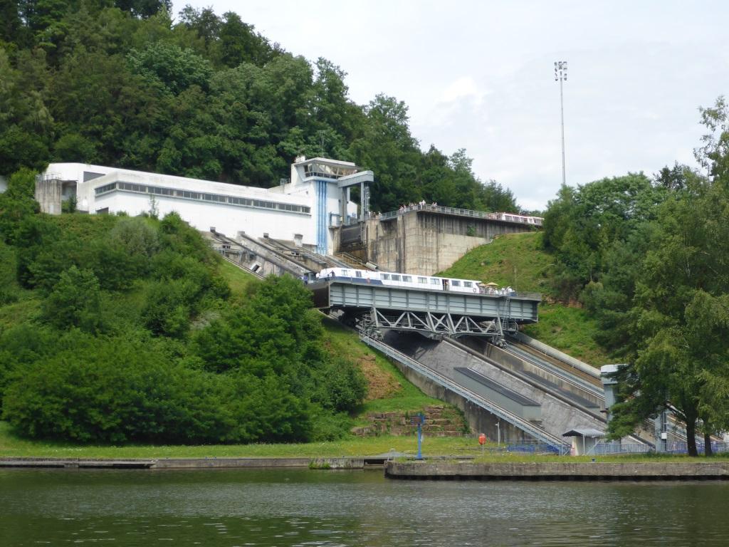 Schiffshebewerk bei Arzviller (Bild: Klaus Dapp)